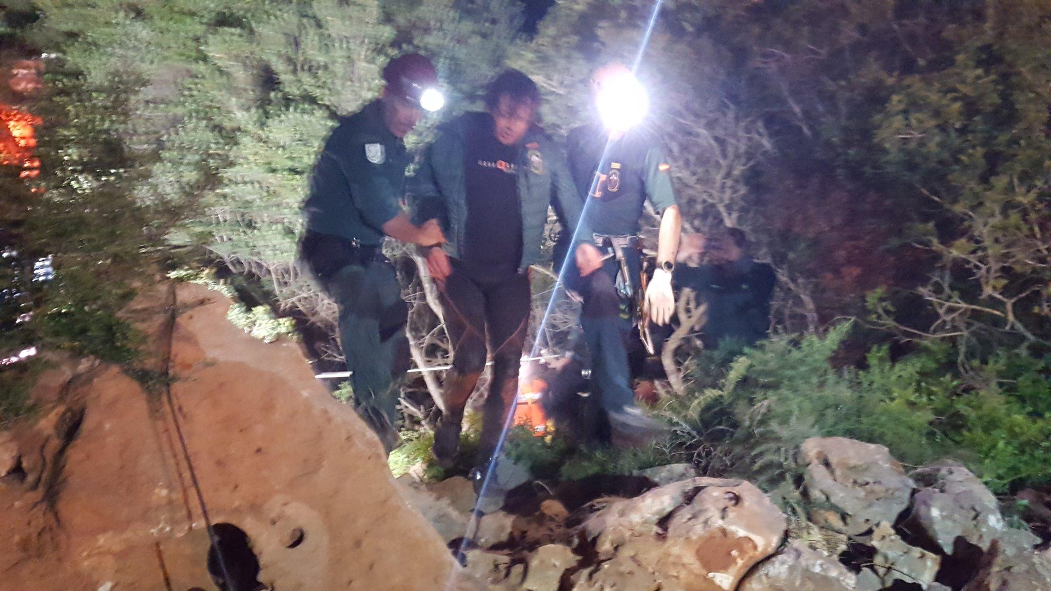 Xisco Gràcia: 'Pensé que mi amigo no pudo salir de la cueva y que nunca me encontrarían'