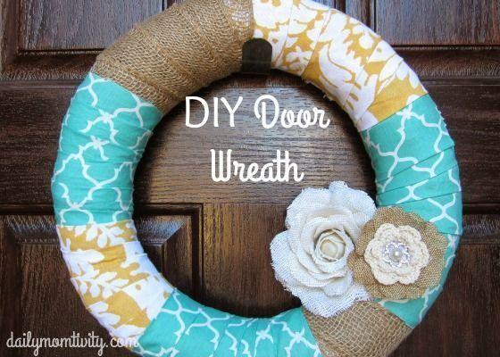Easy DIY Front Door Wreath