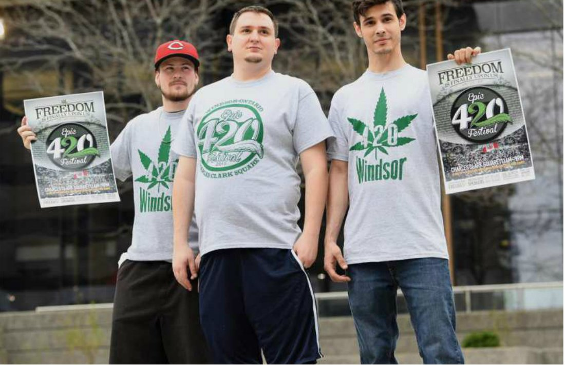 Marijuana Advocates to Celebrate '4/20' in Downtown Windsor