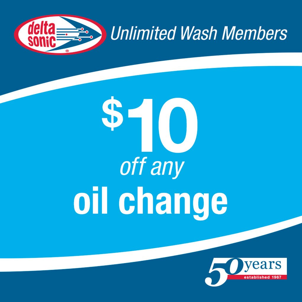 Delta Sonic Oil Change >> Delta Sonic On Twitter Did You Know Unlimited Members Save