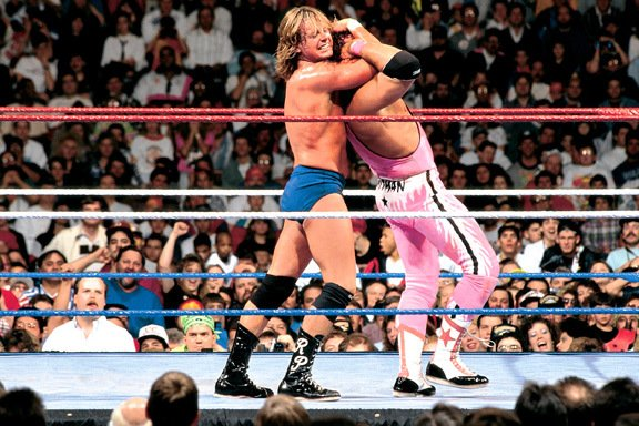 Happy birthday to the late One of his best matches, WM 8 vs