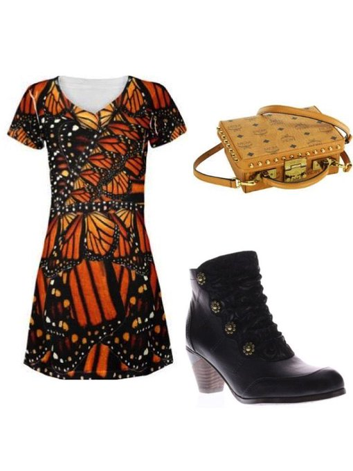 Monarch Butterfly #ootd #fashionpost #style #lookbook