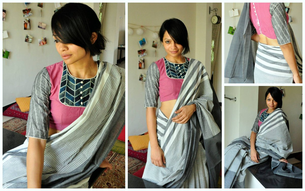 PATCHWORKED BLOUSE  02