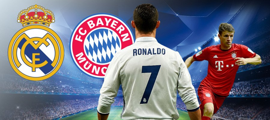 Vedere REAL MADRID BAYERN MONACO Streaming Gratis Rojadirecta
