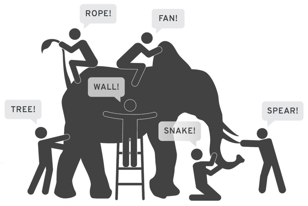 Resultado de imagen para systems thinking elephant