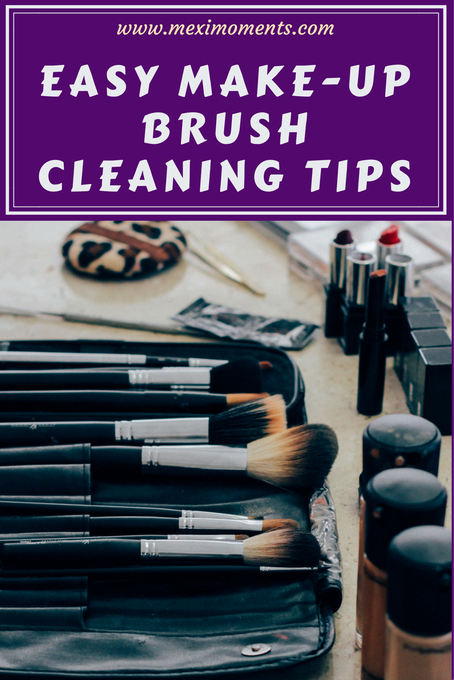 Easy Make-up Brush Cleaning Tips!