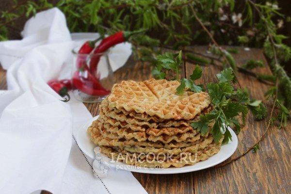 Рецепт вафли сердечки