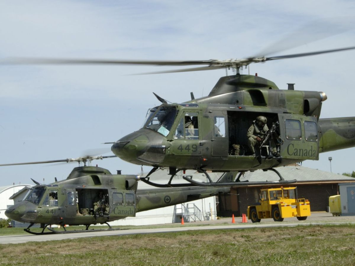 Canada deploys aircrew from the Royal Canadian Air Force to the Kurdistan Region.