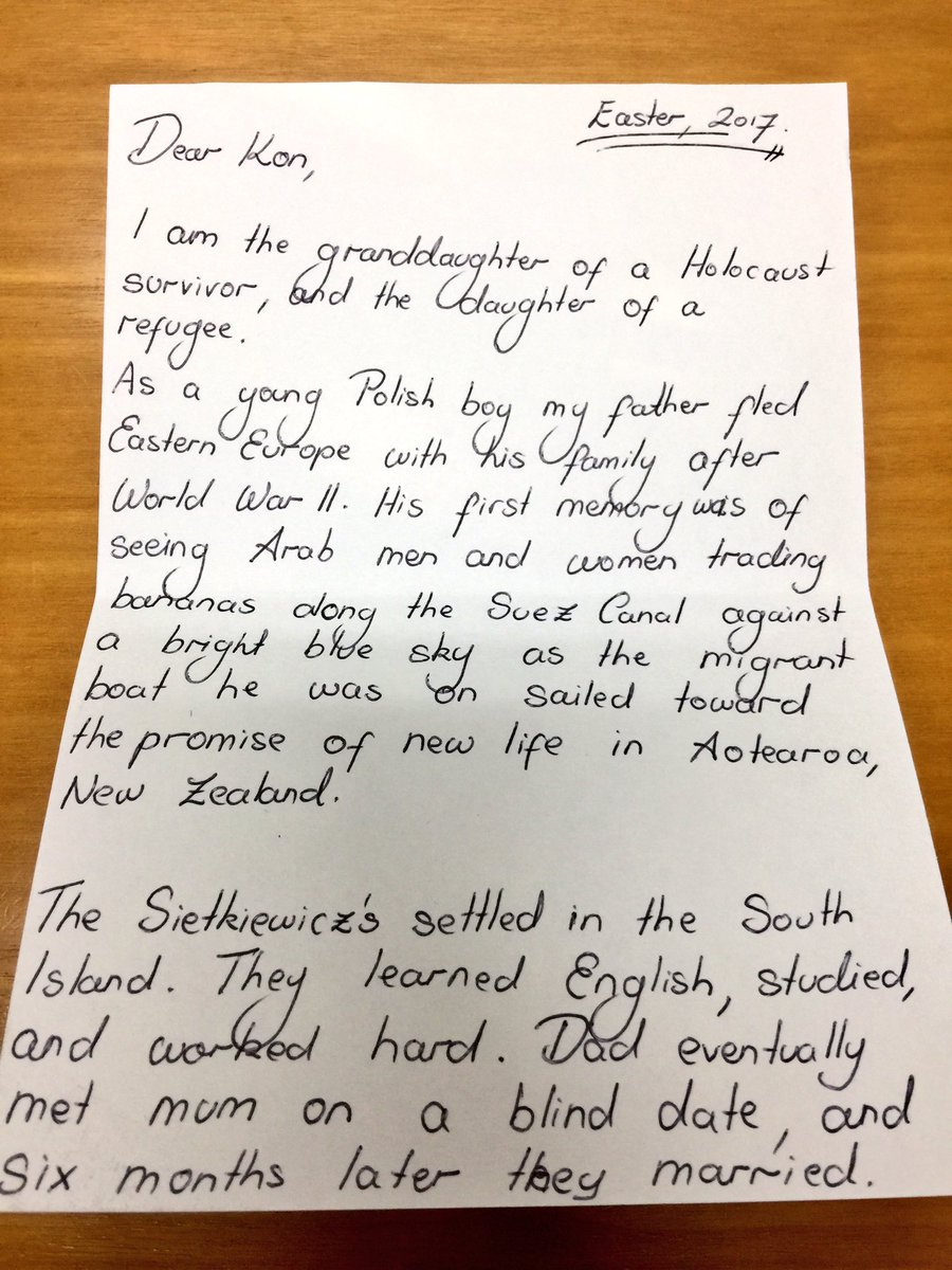Kon Karapanagiotidis On Twitter I Received The Most Beautiful Humbling Letter In Mail Today That Am Sharing With Authors Blessing