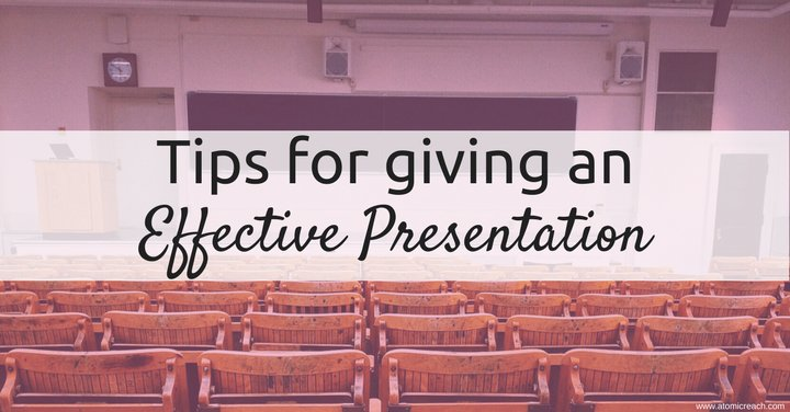 Tips for Giving an Effective #Presentation  http:// ampr.ch/x197  &nbsp;  <br>http://pic.twitter.com/tPRy5tOptv
