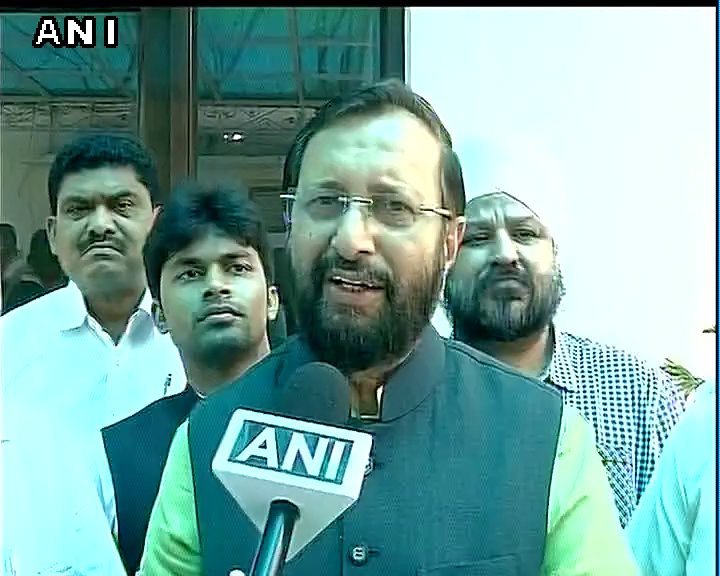 Last year militants burnt 30 schools, 98% students appeared in exams; this time too situation will end soon: P Javadekar on J&K school closure