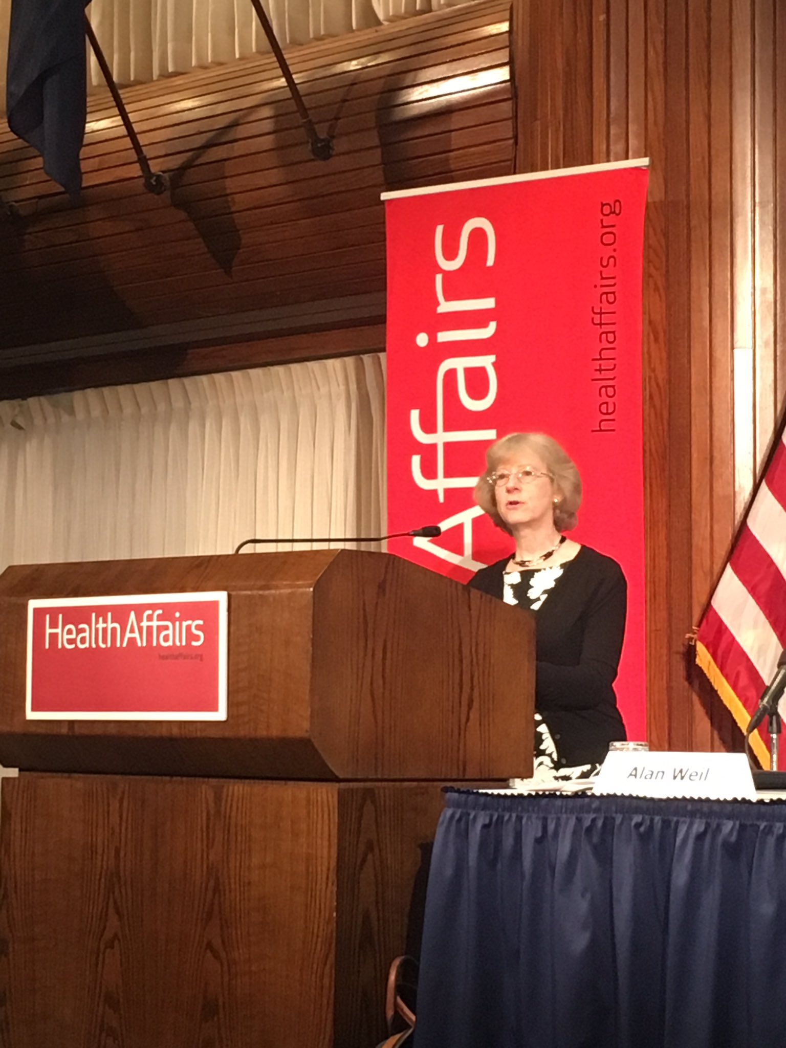If you look at our #healthcare system, it clearly wasn't designed w/ patients in mind. -Cynthia Barnard #valuepayment @Health_Affairs https://t.co/3RwhNr0Fix