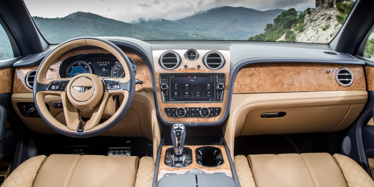 #Bentayga has earned a spot on the 2017 @WardAuto 10 Best Interiors list:
