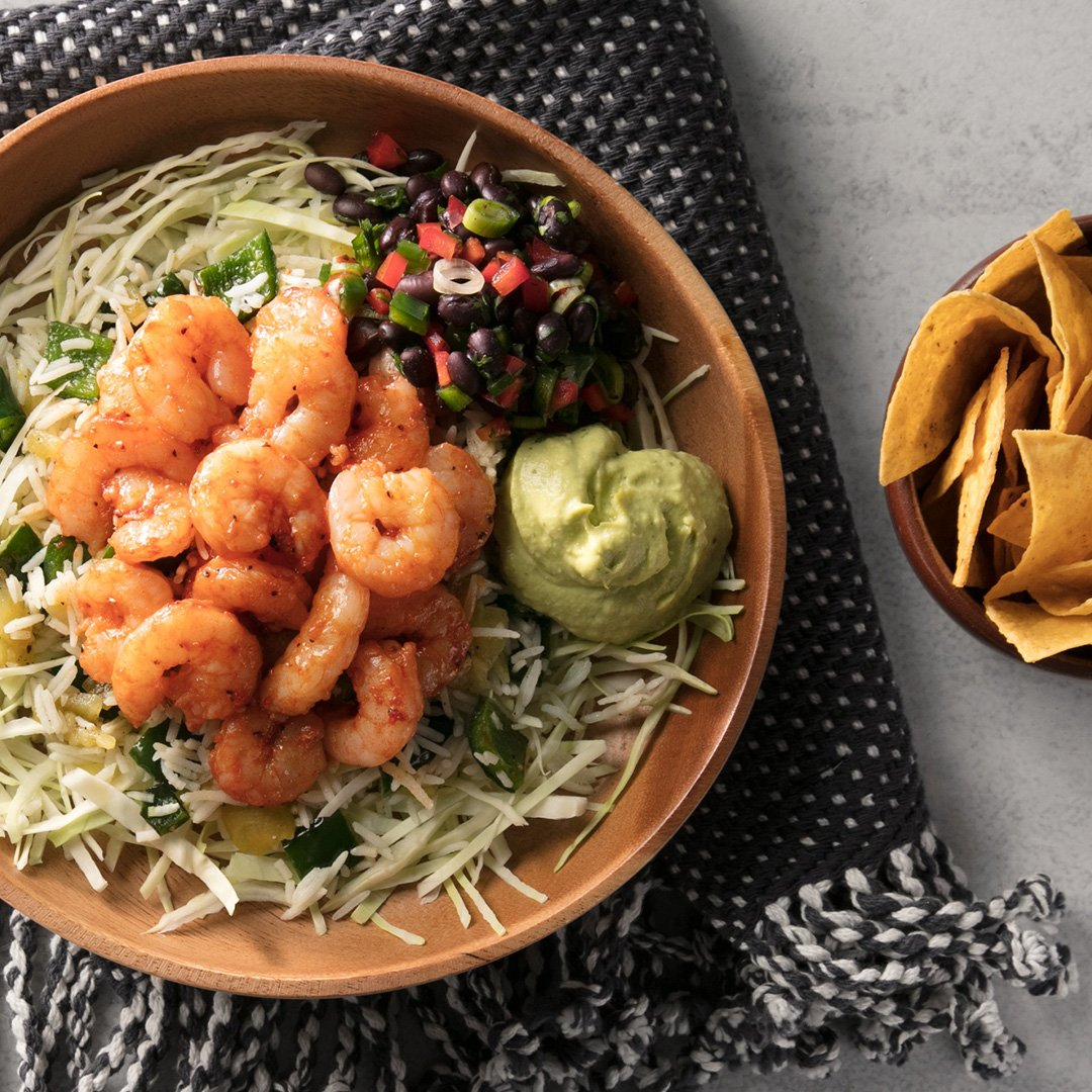 We'll be guac-ing in the spring sunshine today with our shrimp taco bowl because tacos. We love them. https://t.co/xmSgONi26p https://t.co/ghBBSKj2Fh