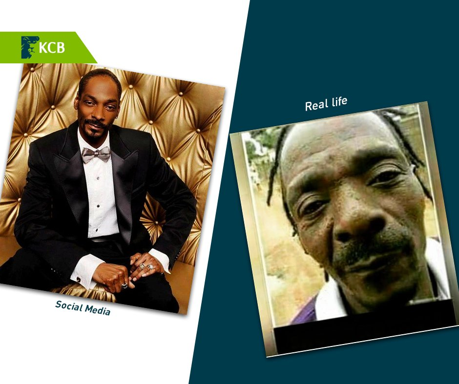 social media vs real life