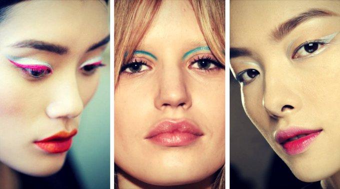 Eyeliner colorato: beauty trend della primavera