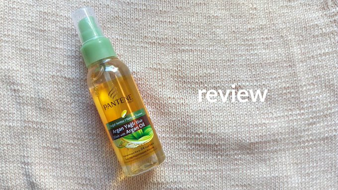 Pantene Elixir With Argan Oil
