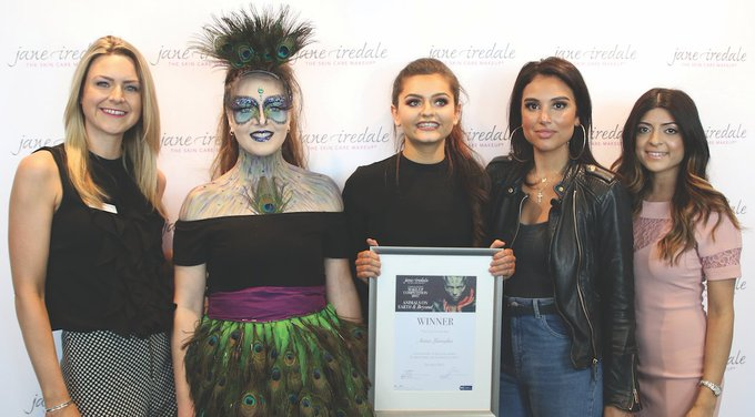 Student make-up artist from Guildford wins Jane Iredale competition – Professional Beauty