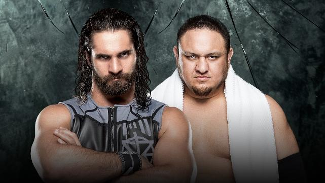 Comme il a survécu à @TripleH à #WrestleMania, @WWERollins affrontera @SamoaJoe en un contre un à #WWEPayback!   :  http:// wwe.me/9zJGqQ    pic.twitter.com/mAnm9KqMDh
