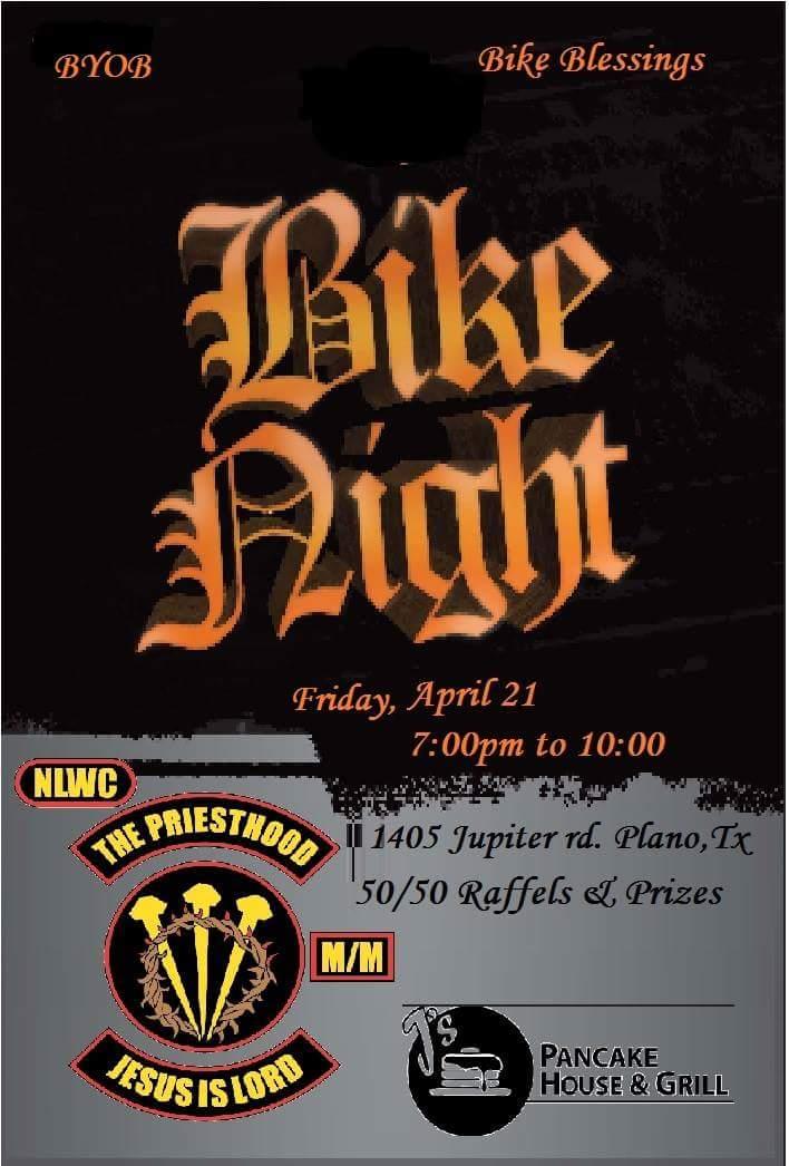 J's Pancae House & Grill Bike Night Plano TX bikers motorcycle events