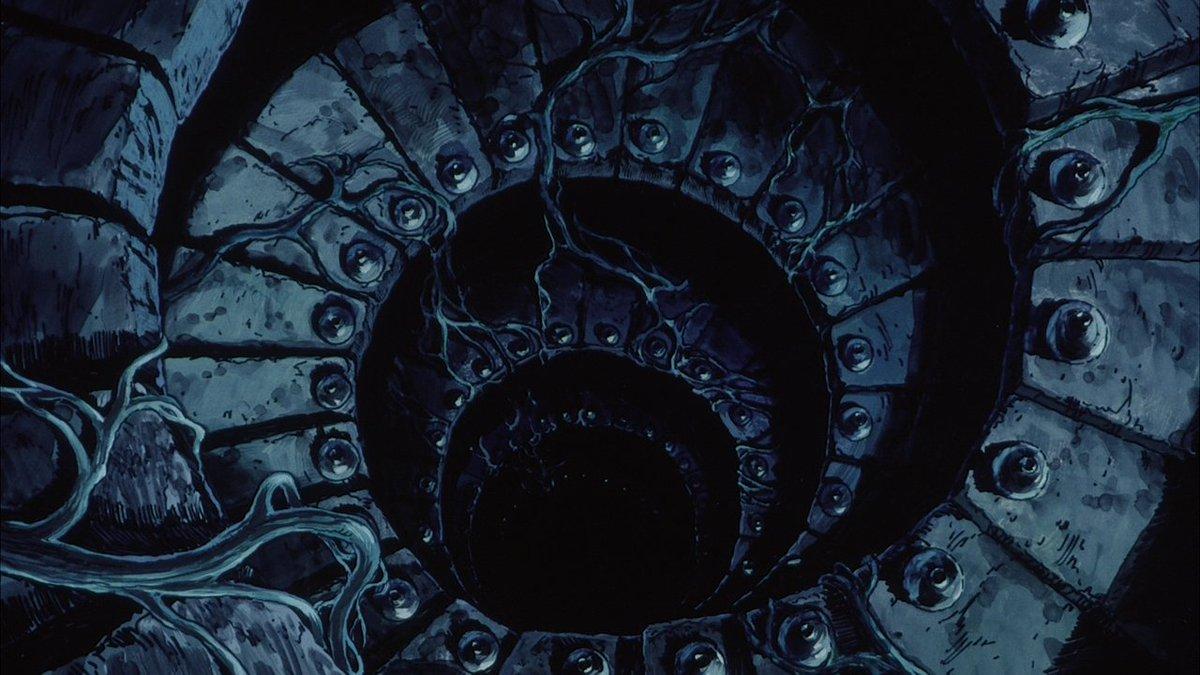 الظلام الدامس في الفيلم