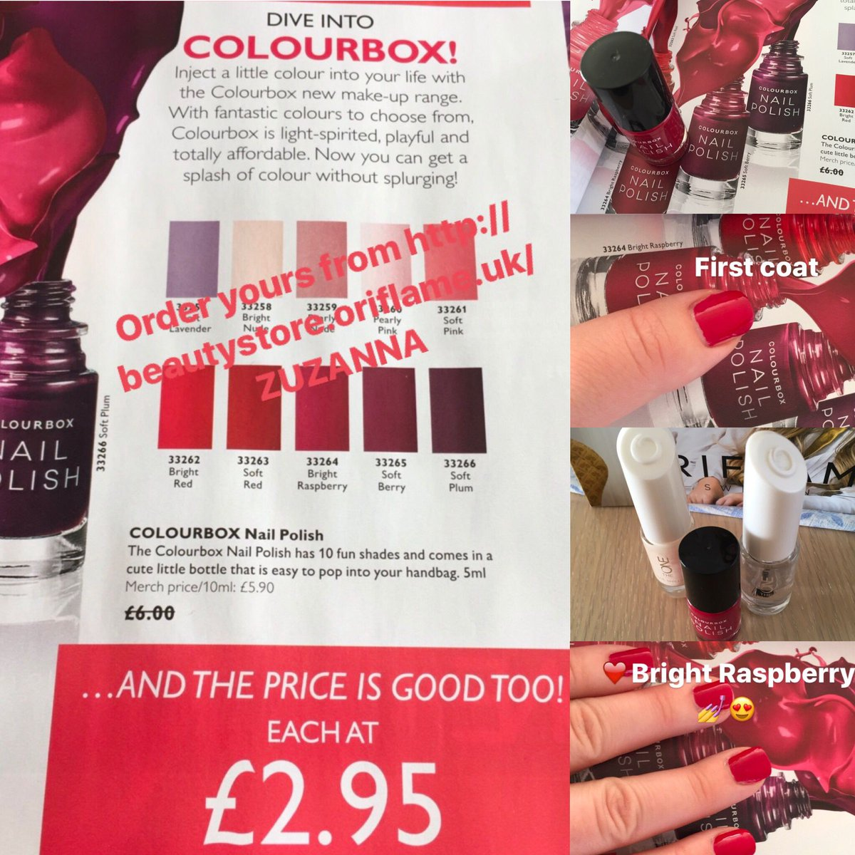 Zuzanna Zeli On Twitter Colourbox Nail Polish Bright Raspberry Https T Co Ridgoq1krw Oriflame Oriflame50 Naturalcosmetics Nails Nailart Wowdeal Loveit Https T Co Kfjmcbrjmo