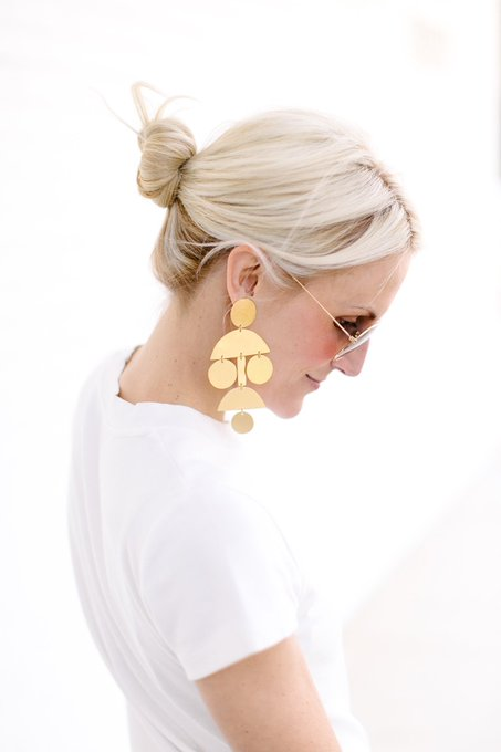 ARTFUL EARRINGS FROM ANNIE COSTELLO BROWN