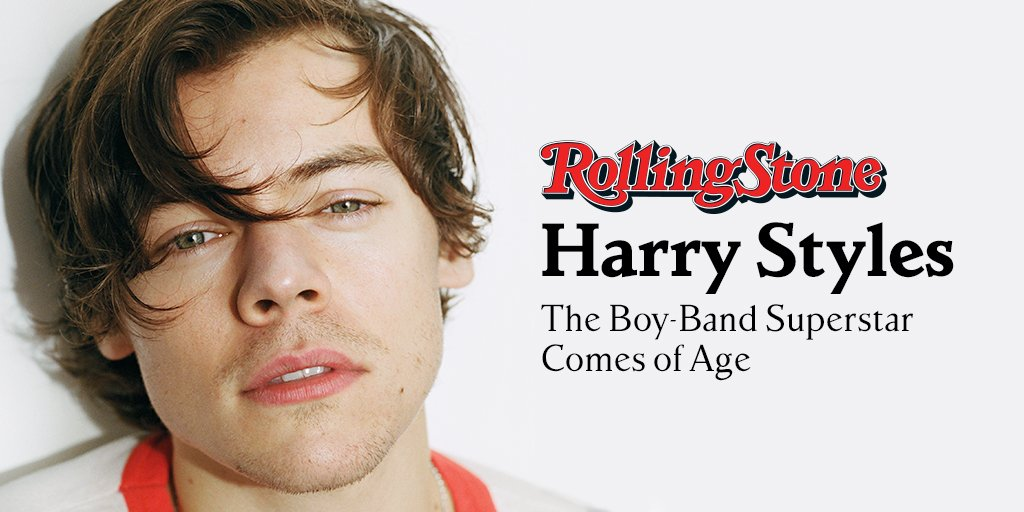 One Direction's Harry Styles appears on our cover and talks with Cameron Crowe for the story. Read it in full here https://t.co/KceV5Qp2CY