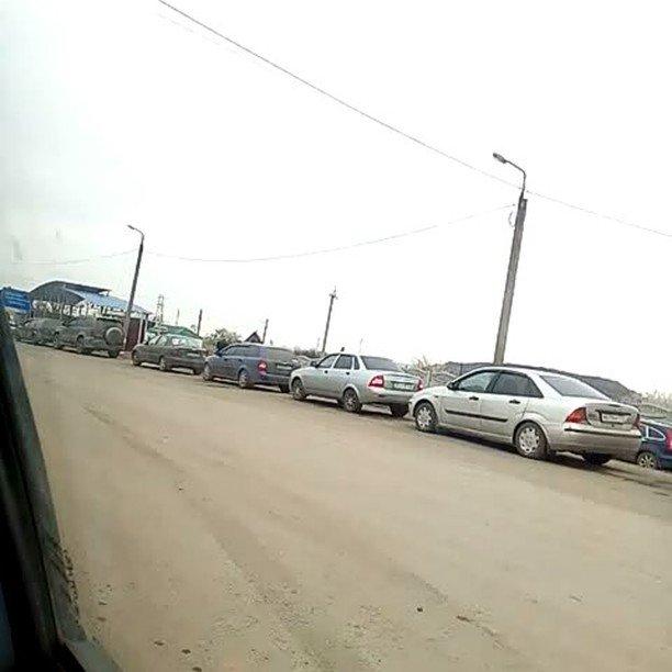 Luhansk region: Fuel shortage