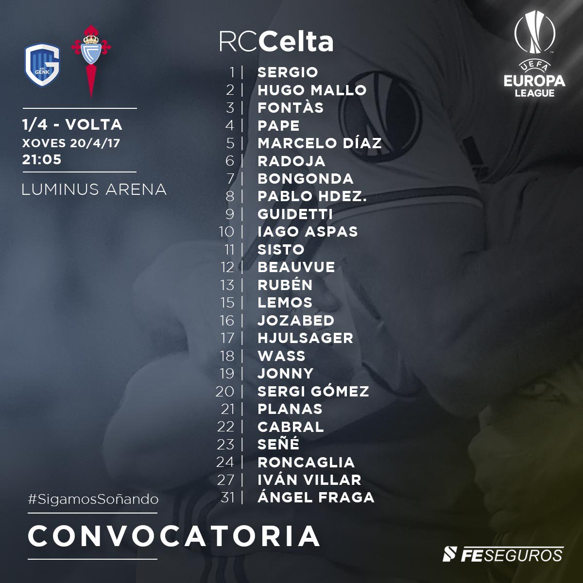 EUROPA LEAGUE CELTA | Temporada 2016 - 2017 C9s_GJRXcAAq4RA