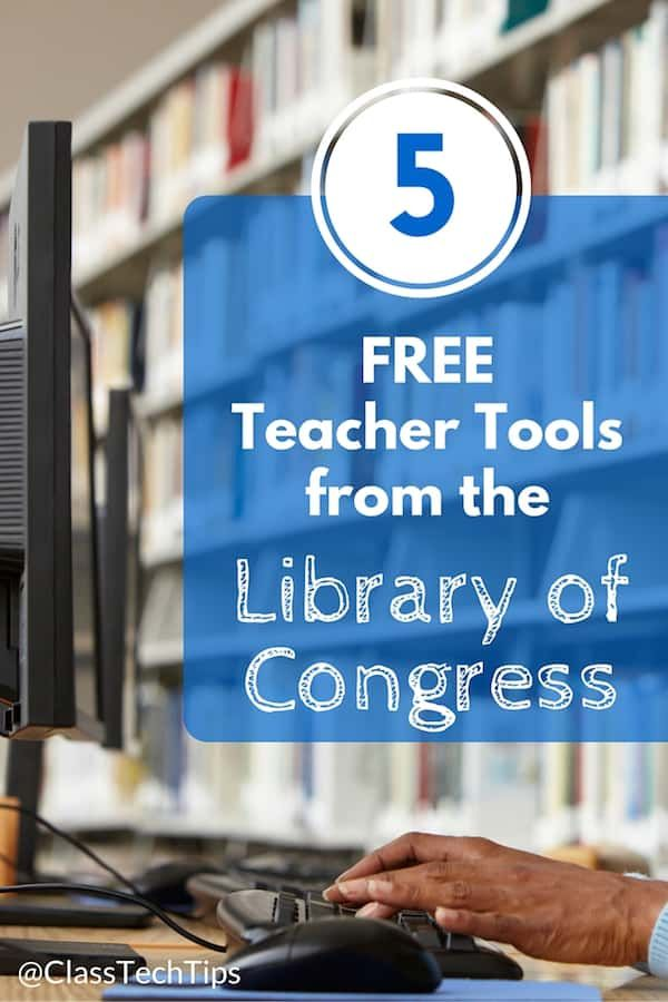 5 Totally FREE Teacher Tools from the Library of Congress! https://t.co/4EIZq32jhv #FutureReadyLibs #TechTuesday https://t.co/kZxXPZjHJt