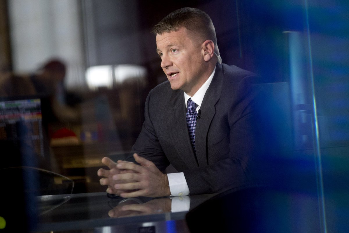 EXCLUSIVE: Blackwater's Erik Prince is said to have advised Trump transition team on intel, then met w/ Putin aide https://t.co/FzwLwKPwhy