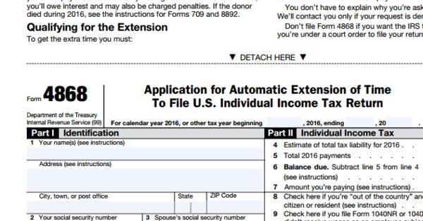 Fred Cantu On Twitter Not Ready To File Your Taxes Form 4868 Is