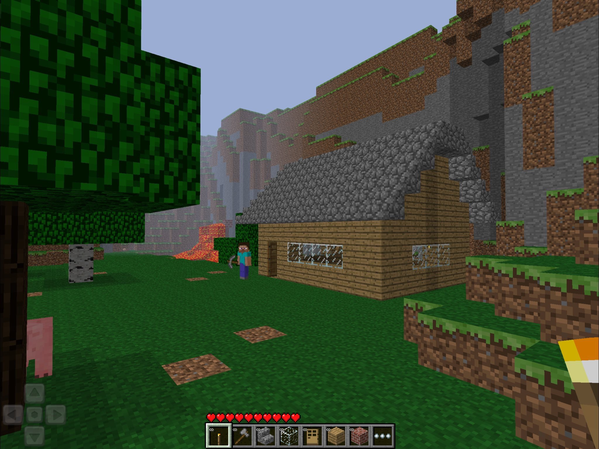"""Minecraft News on Twitter: """"Played the DEMO version of #MCPE today"""