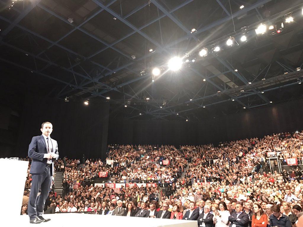 Heureux d'être présent au meeting de #Hamon à #Toulouse avec plus de 6000 personnes. #Presidentielle2017 #Hamon2017