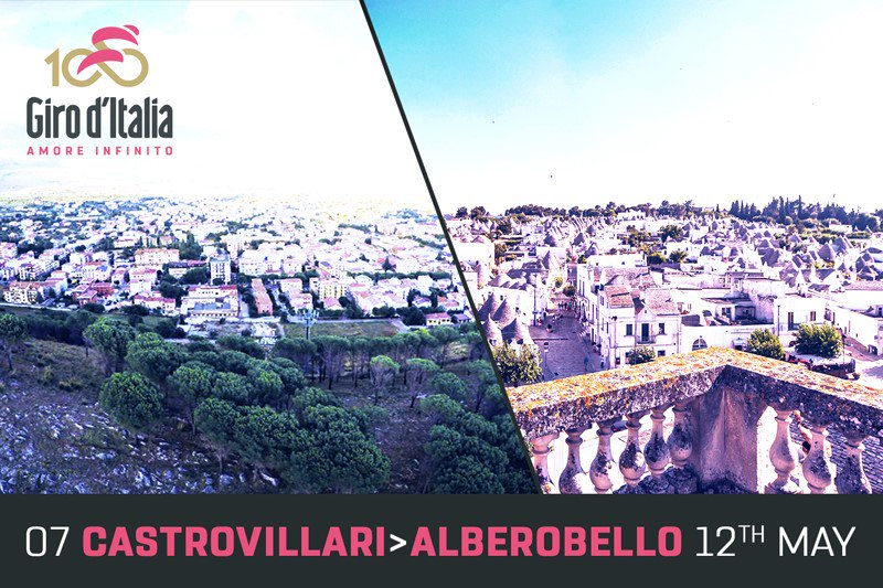 GIRO d'Italia 2017 DIRETTA Oggi: Castrovillari Alberobello Streaming Live Tappa 7, altimetria, mappa percorso, ultimi km arrivo, dove vedere