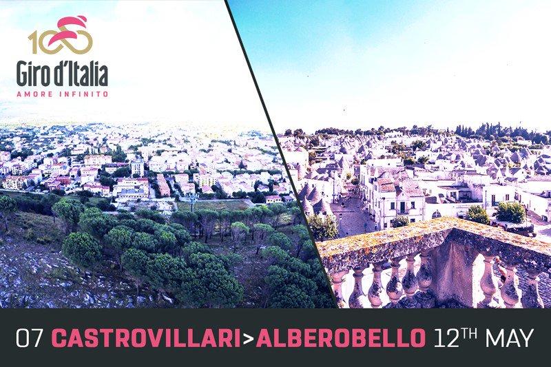 GIRO d'Italia 2017 DIRETTA Oggi: Castrovillari Alberobello Streaming Live Tappa 7, altimetria, mappa percorso, ultimi km arrivo