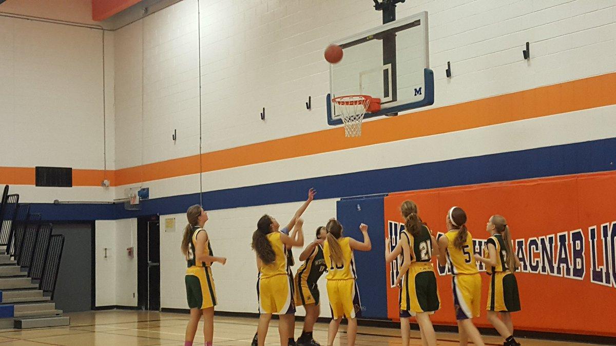 Midget girls basketball