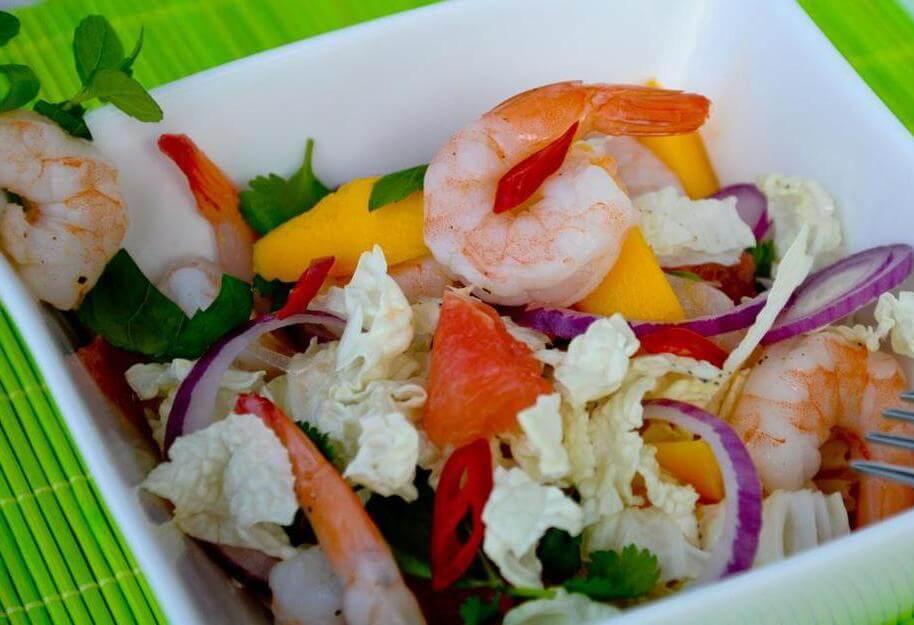 Салат из креветок с руколой рецепт с фото очень вкусный