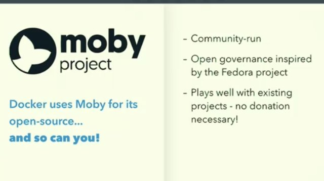 @Docker #DockerCon @solomonstre &quot;Innovate with #Moby project, R&amp;D months become weekend project&quot; Try #WavefrontHQ #API  &amp; #metrics with it.<br>http://pic.twitter.com/LuLpWPY3Gn