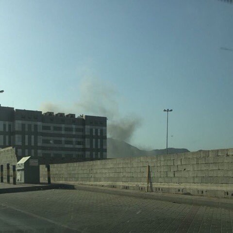 5 Rockets fired into Najran in Saudi, injuring 5 citizens including a women  and  infant