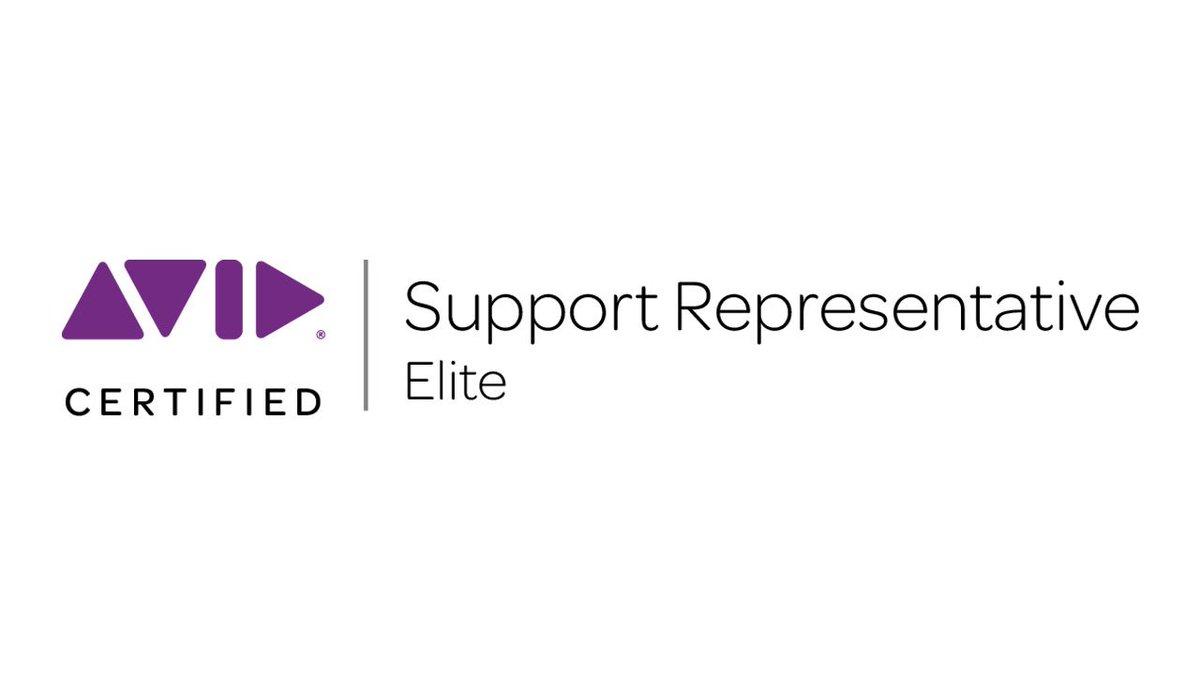 Avid Media Composer On Twitter The Acsr Elite Recertification
