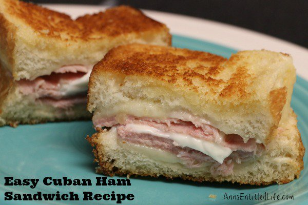 Cuban Ham Sandwich Recipe