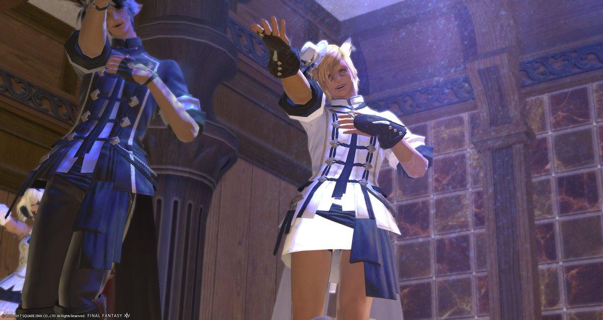 FF14は自分好みに作ったキャラに色んな衣装を着せられるしオスでも履けるスカートがあるのでどうぞ