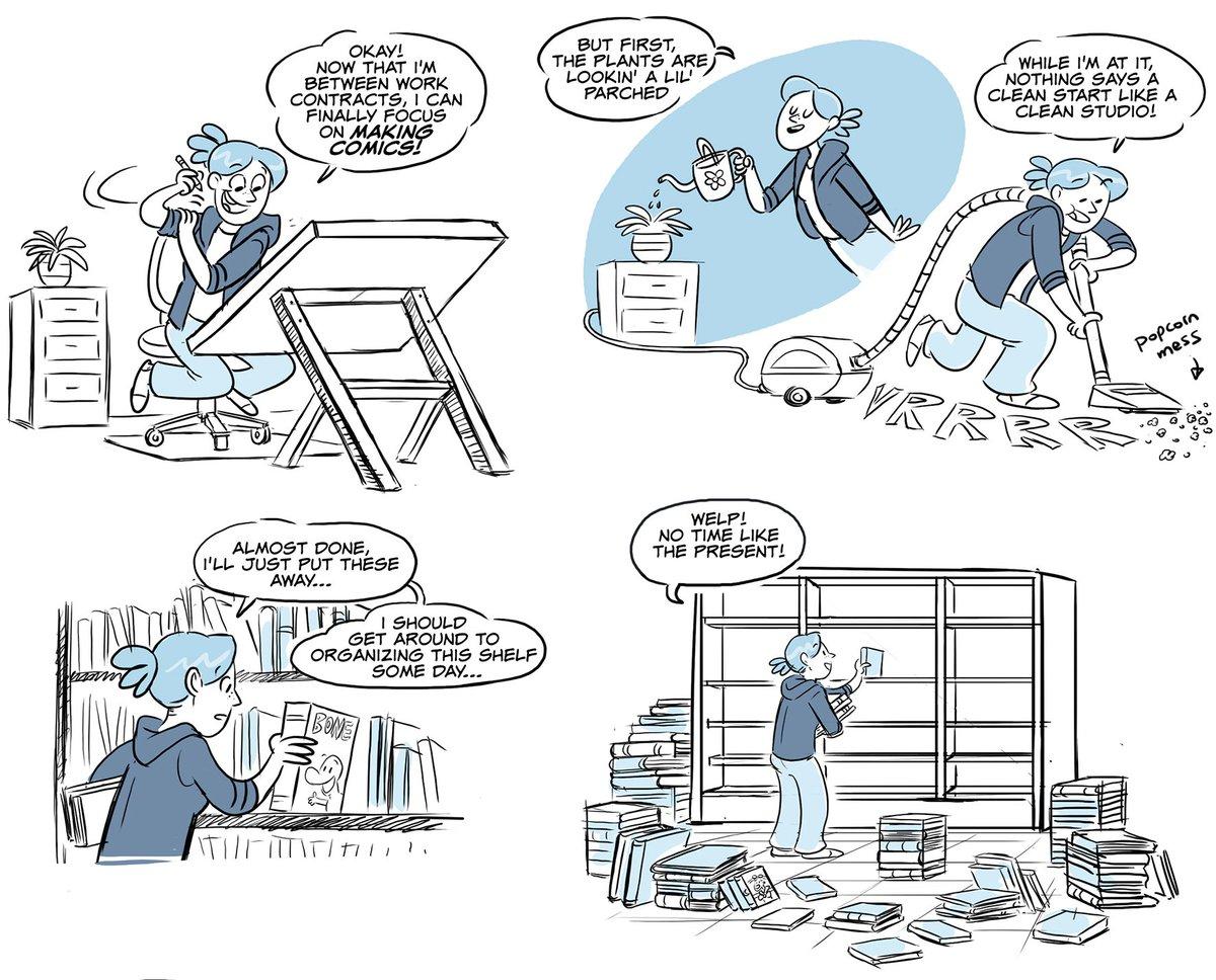 A look into my comic making process! ... #makingcomics #webcomics https://t.co/otHyH8mLU4