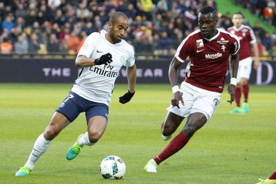 Metz vs PSG Highlights