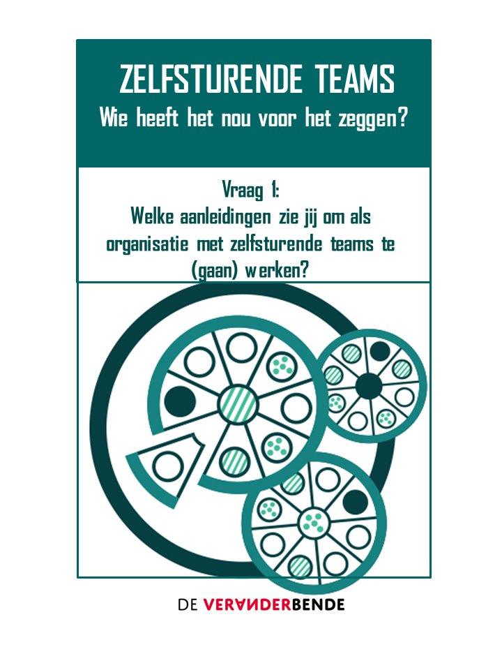 V1: Welke aanleidingen zie jij om als organisatie met zelfsturende teams te (gaan) werken? #PizzaOrgs https://t.co/urrka2iWlU