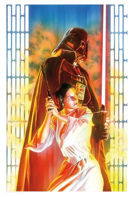 #Star Wars by Alex Ross. pic.twitter.com/m32YHSqCs0