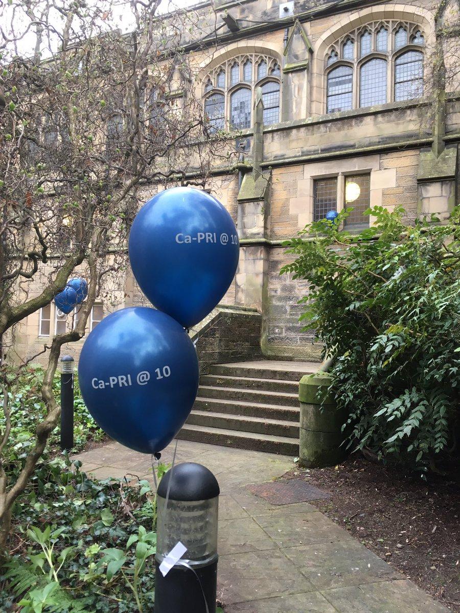 At the #CaPRI2017 evening reception: celebrating the 10th birthday of @CaPRINetwork #edinburgh #balloons <br>http://pic.twitter.com/jv7H1iJkup
