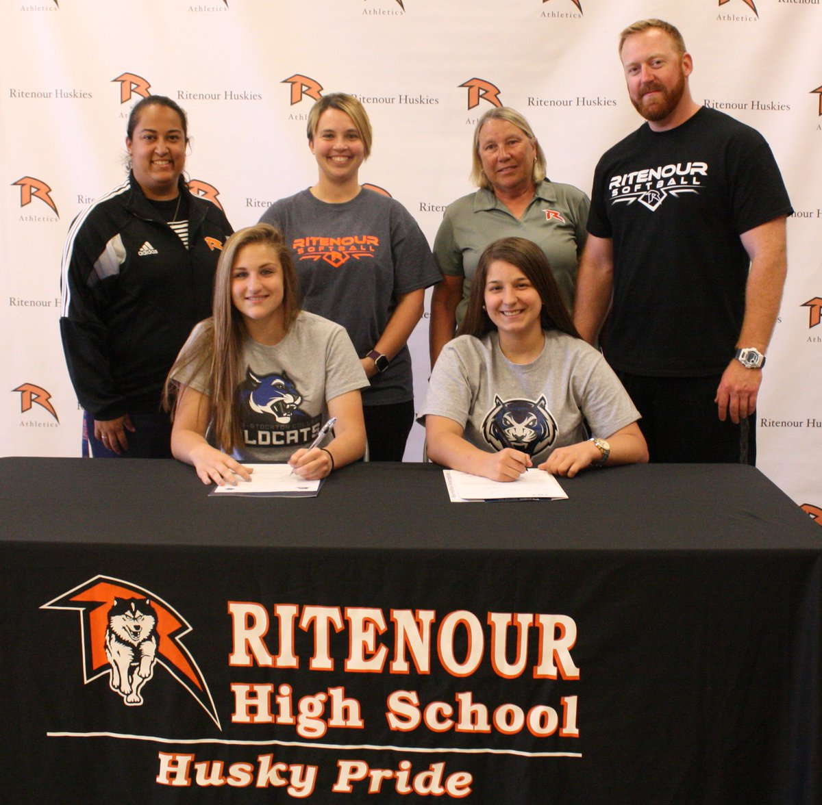 Hu huskies athletics - Ritenour Schools On Twitter Congrats To Rhs Huskies Andrea Wanta Shelby Beile Who Signed To Continue Their Softball Careers In College